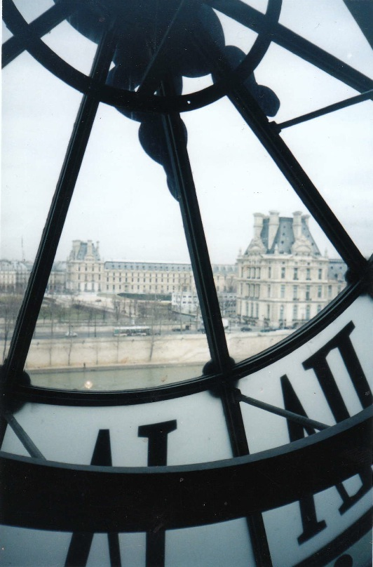 View from Musee d'Orsay, 2011