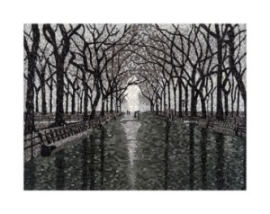 Central Park - kate Kerrigan Mosaics