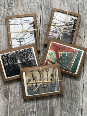 cards package, kate kerrigan mosaics