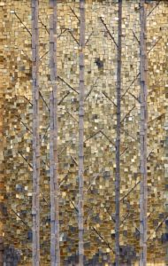 The Aspens, Autumn II kate kerrigan mosaics